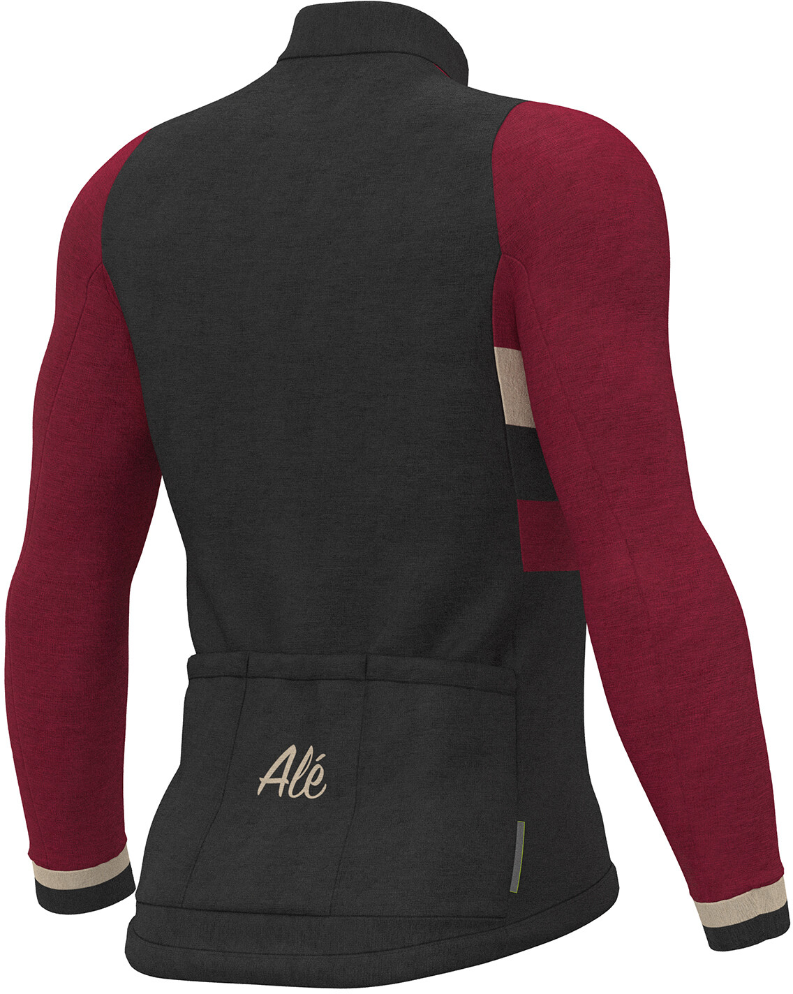Alé Cycling Classic Vintage Bike Jersey Longsleeve Men red black at ... 87679b189